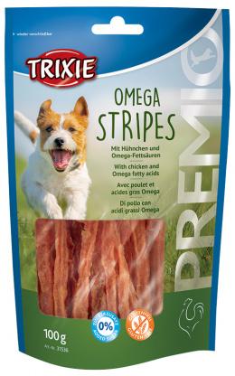 Gardums suņiem - TRIXIE PREMIO Omega Stripes, 100 g