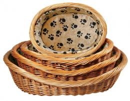 Guļvieta suņiem - Dog Basket, 60cm, bēša krāsa