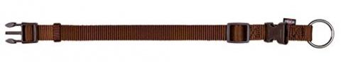 Ошейник для собак - TRIXIE Premium Collar, нейлон, 40-65см/25мм, цвет - коричневый title=