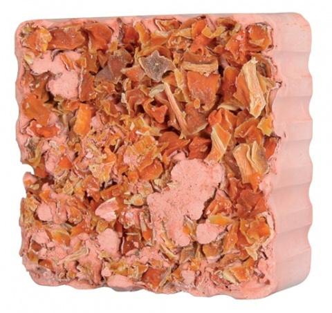 Minerālakmens grauzējiem - TRIXIE Gnawing Stones with Carrot, 75 g title=