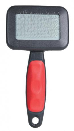 Расческа для собак с гребнем, пластмасса - Soft Brush, 7*13cm