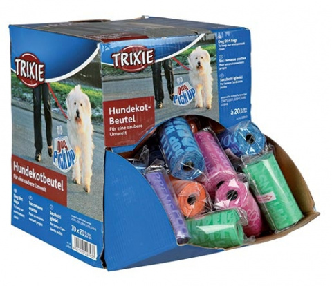 Maisiņi atkritumu savākšanai - Assortment Dog Dirt Bags, 1 roll of 20 bags