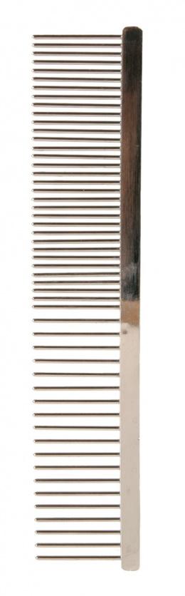 Расческа-фурминатор для собак, металлическая - Metal comb, coarse-fine, 16cm