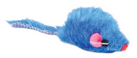 Игрушка для кошек - Мышки, разных цветов, 5 cm title=