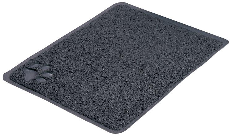 Коврик для кошачьего туалета – TRIXIE Litter Tray Mat, PVC, 37 x 45 см, Anthracite