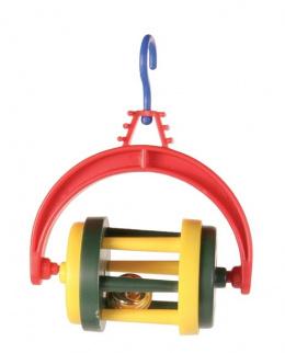 Игрушка для птиц - Погремушка со звоночком