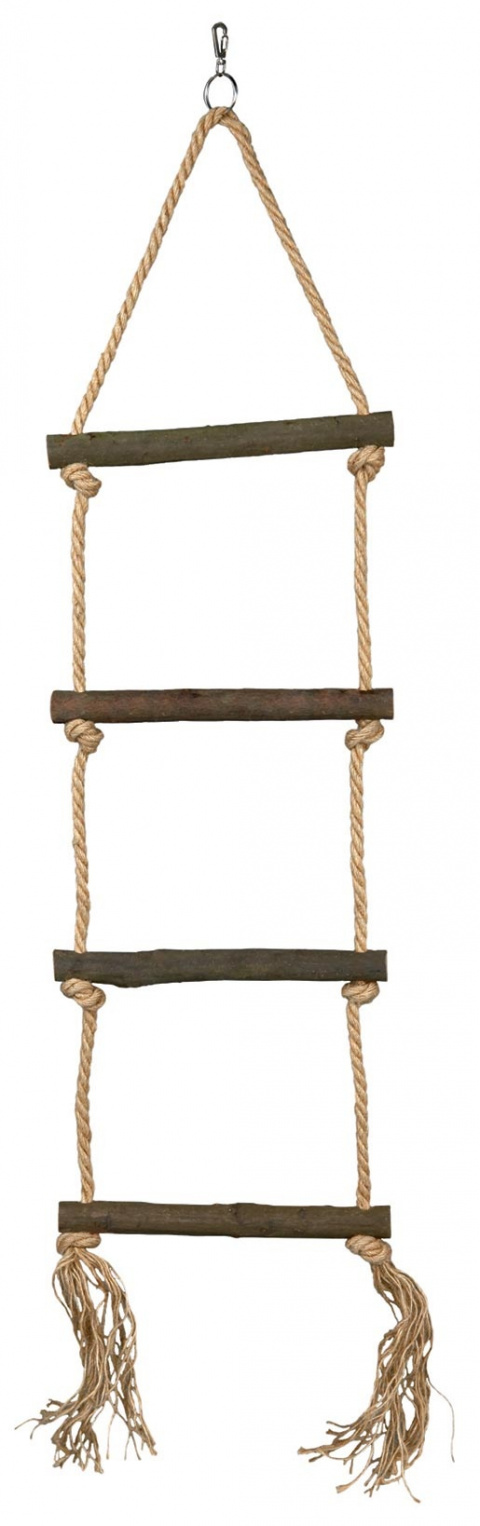 Аксессуар для птичьей клетки - Rope Ladders 85cm (4steps) title=