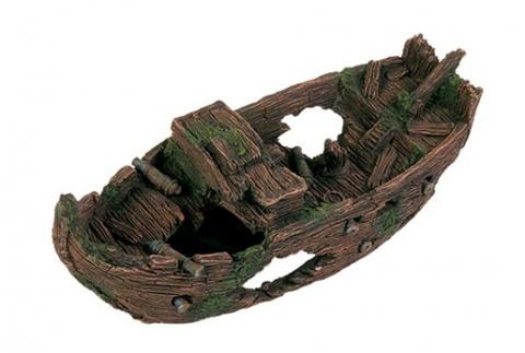 Декор для аквариума - Trixie Shipwreck, 29 cm title=