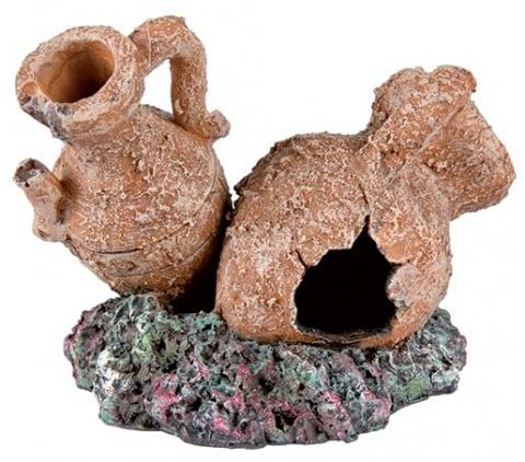 Dekors akvārijem - TRIXIE Antique Pots and Amphorae, Assortment, 8cm