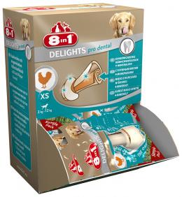 Лакомство для собак -  8in1 Dental Delights XS box, 1шт.