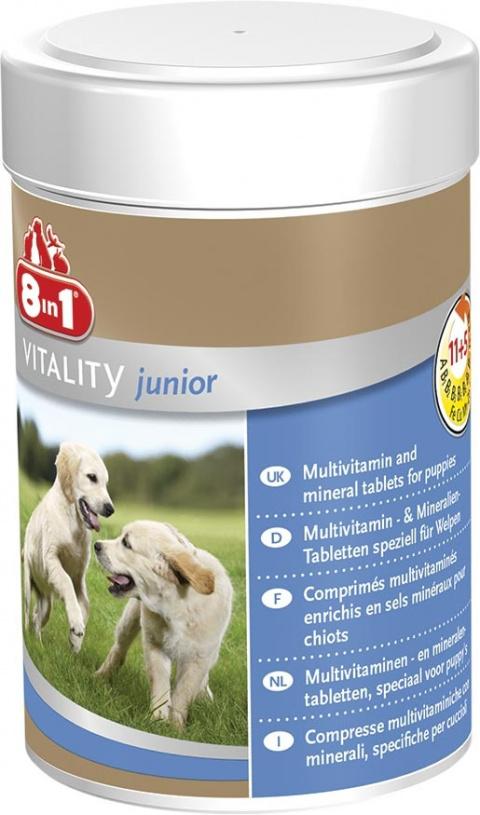 Vitamīni kucēniem - 8 in 1, Puppy, Tabletes, 100 tab.  title=