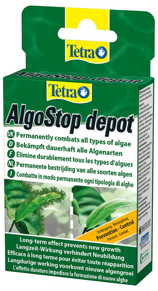 Līdzeklis pret aļģēm – Tetra Algo-stop depot 12 tab.