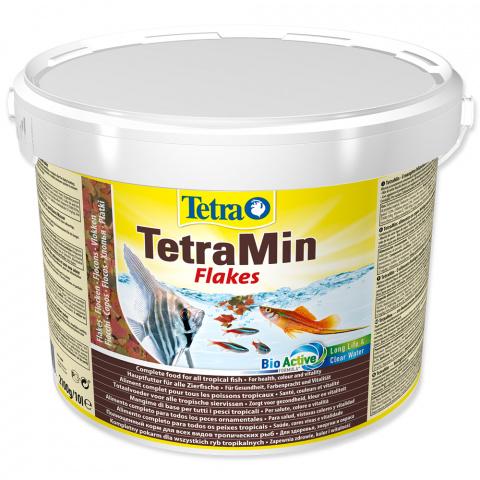 Barība zivīm - Tetra Min 10 L