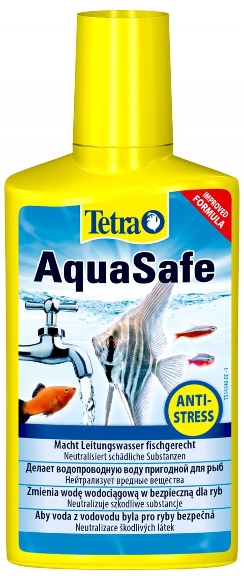 Ūdens kopšanas līdzeklis - Tetra Aqua Safe 250ml title=