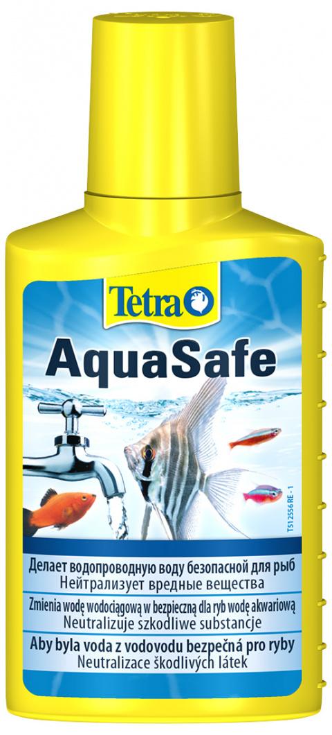 Ūdens kopšanas līdzeklis - Tetra Aqua Safe, 100 ml title=