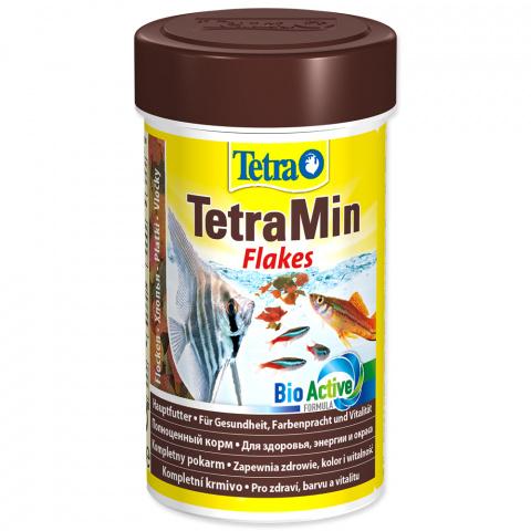 Barība zivīm - Tetra Min 100ml