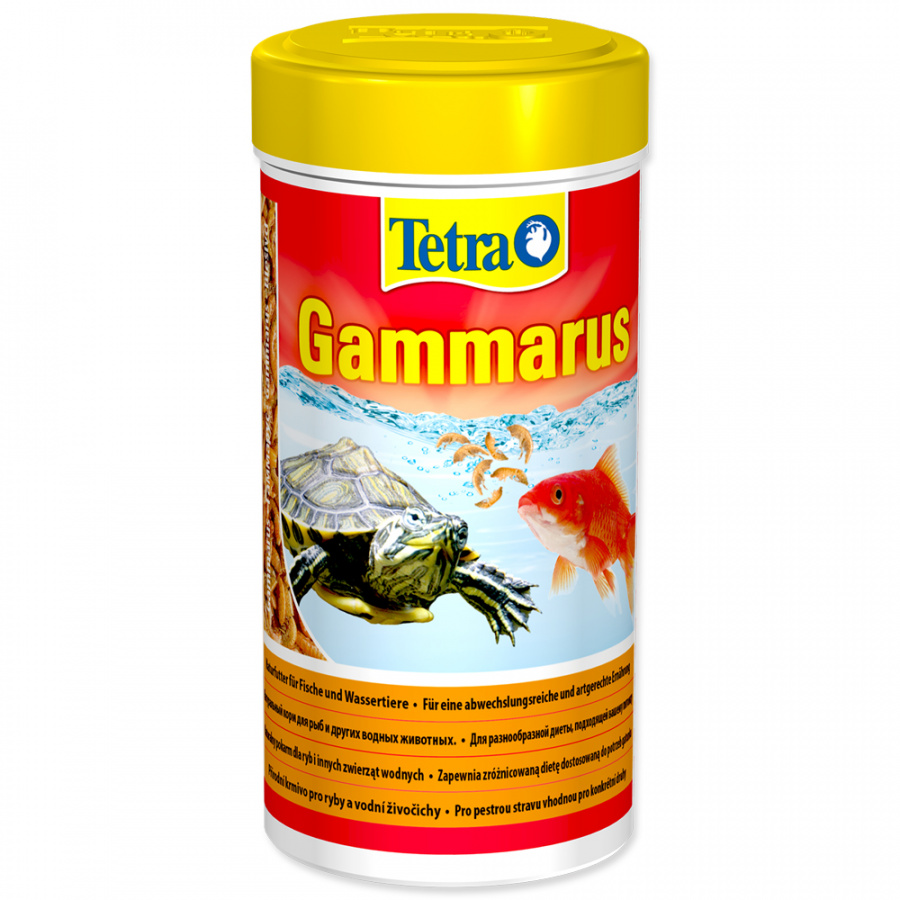 Barība reptiļiem - Tetra Gammarus, 250 ml