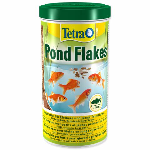 Barība dīķa zivīm - Tetra Pond Flakes, 1000 ml title=