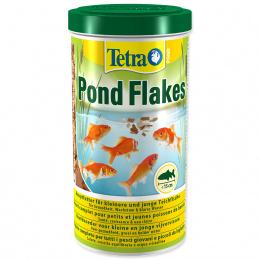 Barība dīķa zivīm - Tetra Pond Flakes, 1000 ml