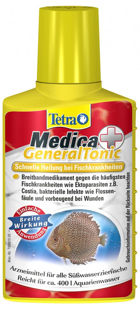 Средство для лечения рыбок - TetraMedica General Tonic 100ml title=