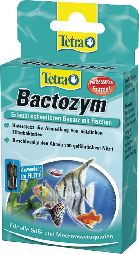 Средство для ухода за водой - Tetra Bactozym 10tb
