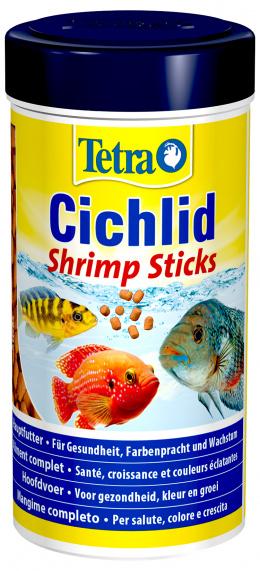 Корм для рыбок - Tetra Cichlid Shrimp Sticks, 250 мл