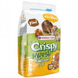 Barība kāmjiem - Crispy Muesli Hamster & Co 1 kg