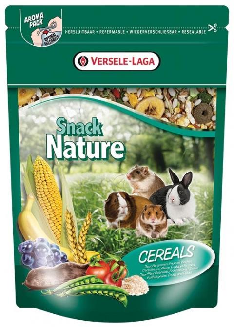 Papildbarība grauzējiem - Versele Laga Prestige Snack Nature Cereals 0,5 kg title=