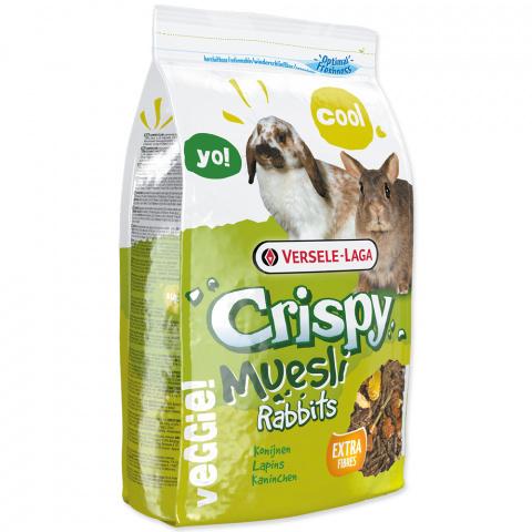 Barība trušiem - Crispy Muesli Rabbits 1 kg