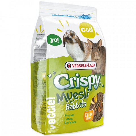 Корм для кроликов - Crispy Muesli Rabbits 1 kg title=