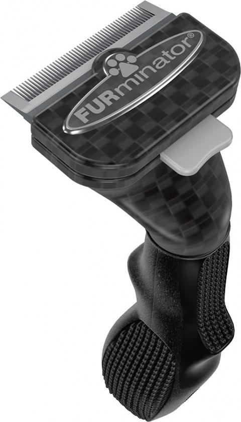 Расческа-фурминатор для собак - FURminator deShedding tool Limited Edition, для длинной шерсти, S