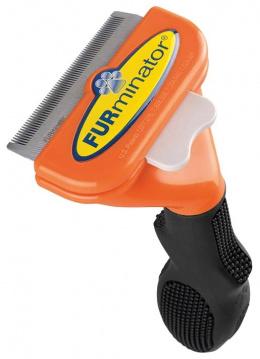 Расческа для собак - FURminator deShedding tool, hair long, M