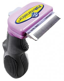 Расческа-фурминатор для кошек - FURminator deShedding tool, для длинной шерсти, S