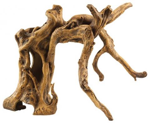 Декор для аквариума - Корни дерева, honey, 29cm title=
