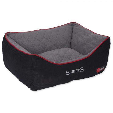 Guļvieta suņiem - Scruffs Thermal Box Bed (S), 50*40cm, melna title=