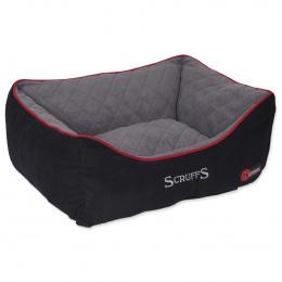 Guļvieta suņiem – Scruffs Thermal Box Bed (S), 50 x 40 cm, Black