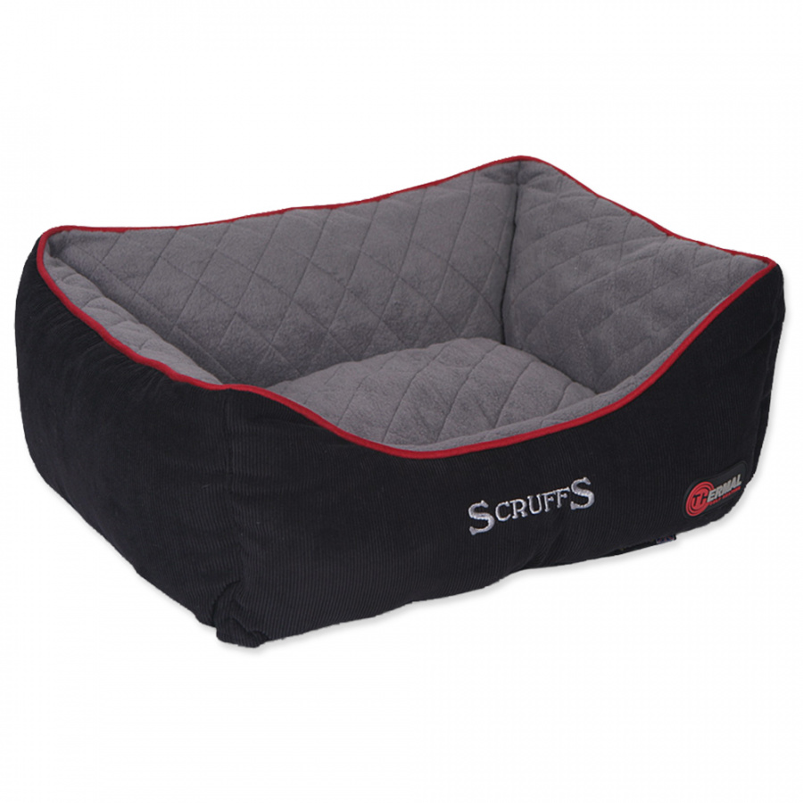 Спальное место для собак - Scruffs Thermal Box Bed (S), 50*40cm, черный
