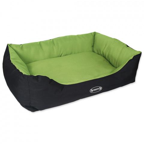 Guļvieta suņiem – Scruffs Expedition Box Bed (XL), 90 x 70 cm, Lime title=