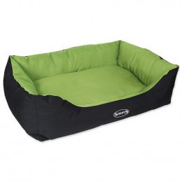 Спальное место для собак – Scruffs Expedition Box Bed (XL), 90 x 70 см, Lime