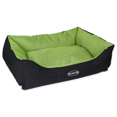 Guļvieta suņiem - Scruffs Expedition Box Bed (L), 75*60cm, lime title=