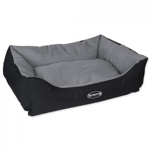 Guļvieta suņiem – Scruffs Expedition Box Bed (L), 75 x 60 cm, Grey title=