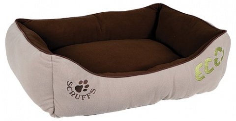 Спальное место для собак - Scruffs ECO Box Bed (L), 75*60cm, натуральный