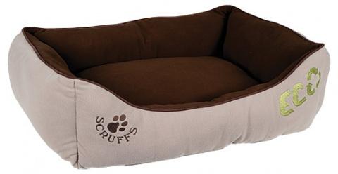 Спальное место для собак - Scruffs ECO Box Bed (M), 60*50cm, натуральный title=