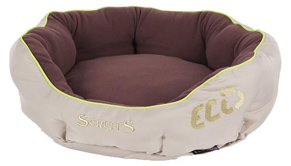 Спальное место для собак - Scruffs ECO Donut Bed (M), 55cm, натуральный