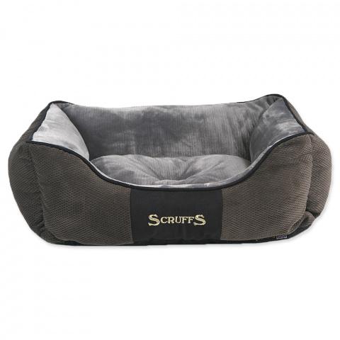 Спальное место для собак – Scruffs Chester Box, Gray (S), 50 x 40 см title=