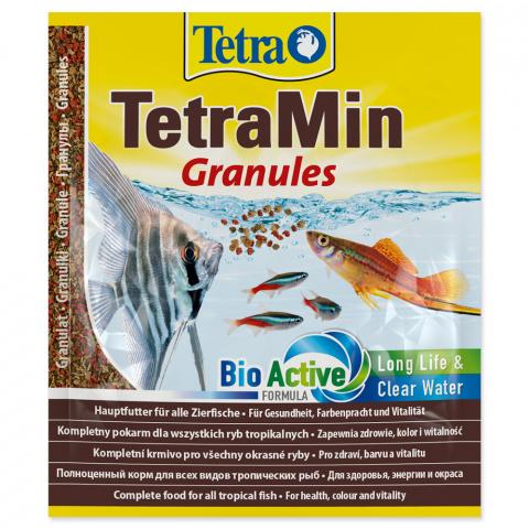 Корм для рыбок - Tetra Min Granules 15gr title=