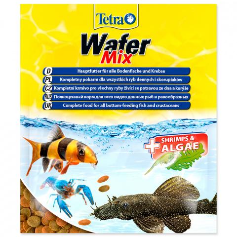 Barība zivīm - Tetra Wafer Mix 15gr title=