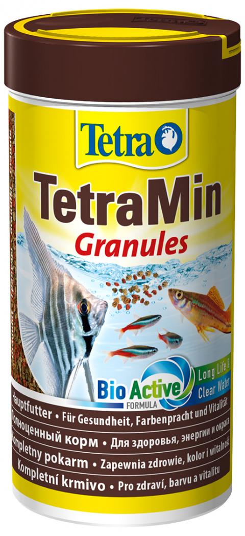 Корм для рыбок - Tetra Min Granules, 250 мл title=