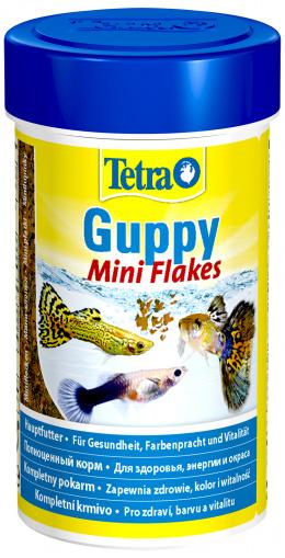 Корм для рыбок - Tetra Guppy Flakes, 100 ml