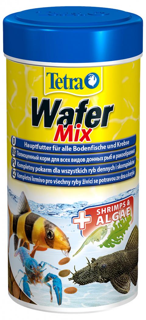 Barība zivīm - Tetra Wafer Mix, 250 ml